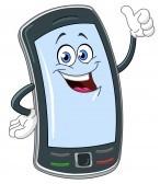 12793111-slimme-telefoon-cartoon-met-duim-omhoog