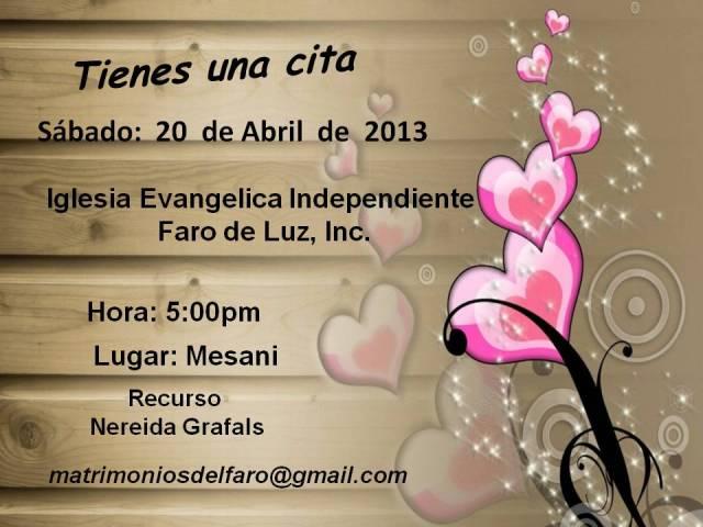 invitacion matrimonios
