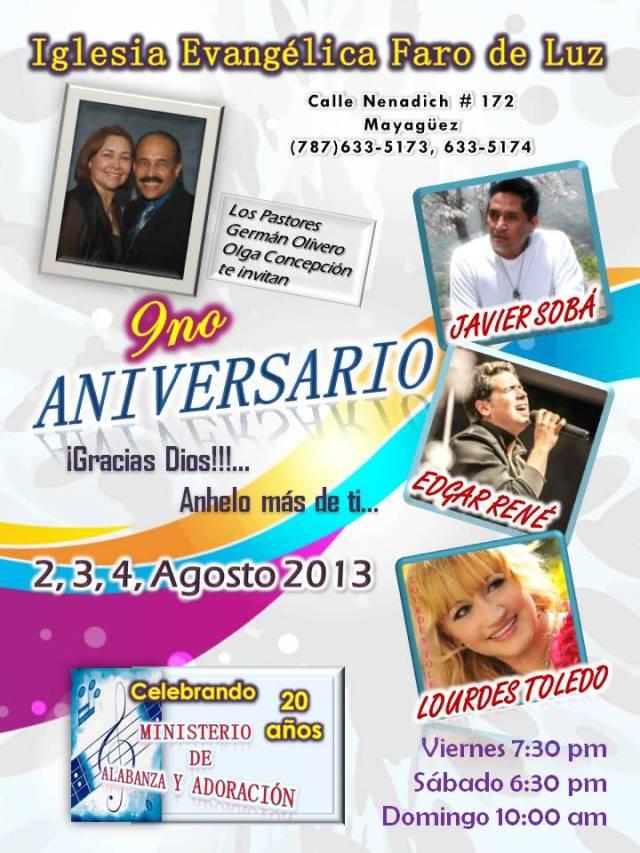 9no aniversario 2013